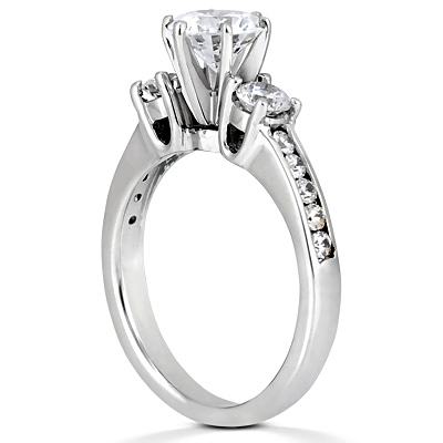 Taryn Collection 14 Karat Diamond Engagement Ring TQD 2336 Alternative View 1