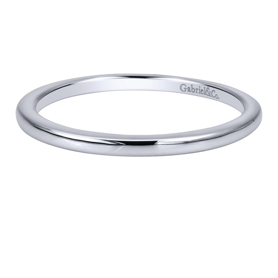 Gabriel 14 Karat Contemporary Wedding Band WB911778R0W4JJJ