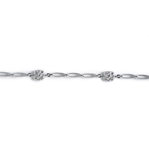 Tacori Diamond Bracelet 18 Karat Fine Jewelry FB616