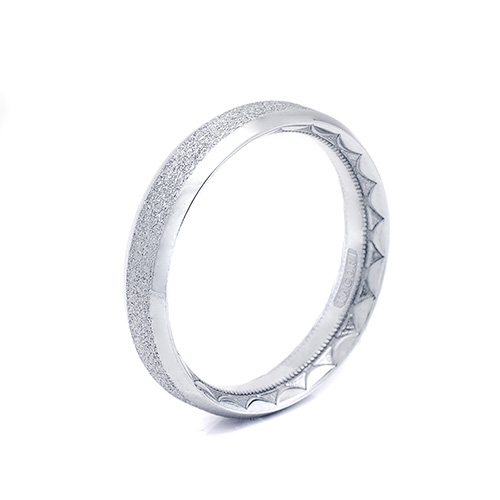 Tacori 18K Eternity Crescent Wedding Band  625Y, 625YS, 625YPB Alternative View 1