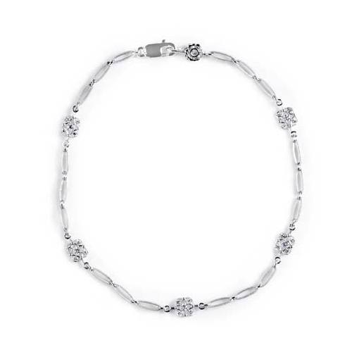 Tacori Diamond Bracelet Platinum Fine Jewelry FB616 Alternative View 1