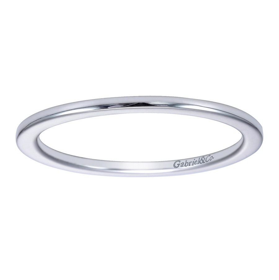 Gabriel Platinum Contemporary Wedding Band WB7268PTJJJ Alternative View 4
