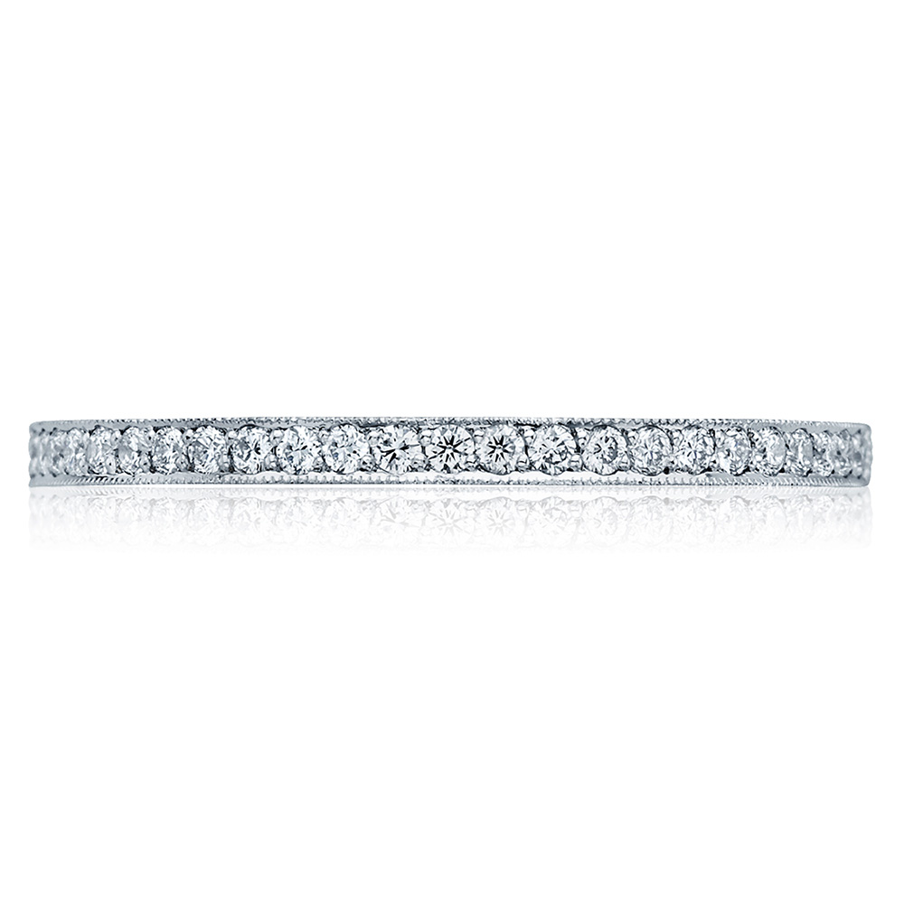 Tacori 41-15 18 Karat Sculpted Crescent Diamond Wedding Band