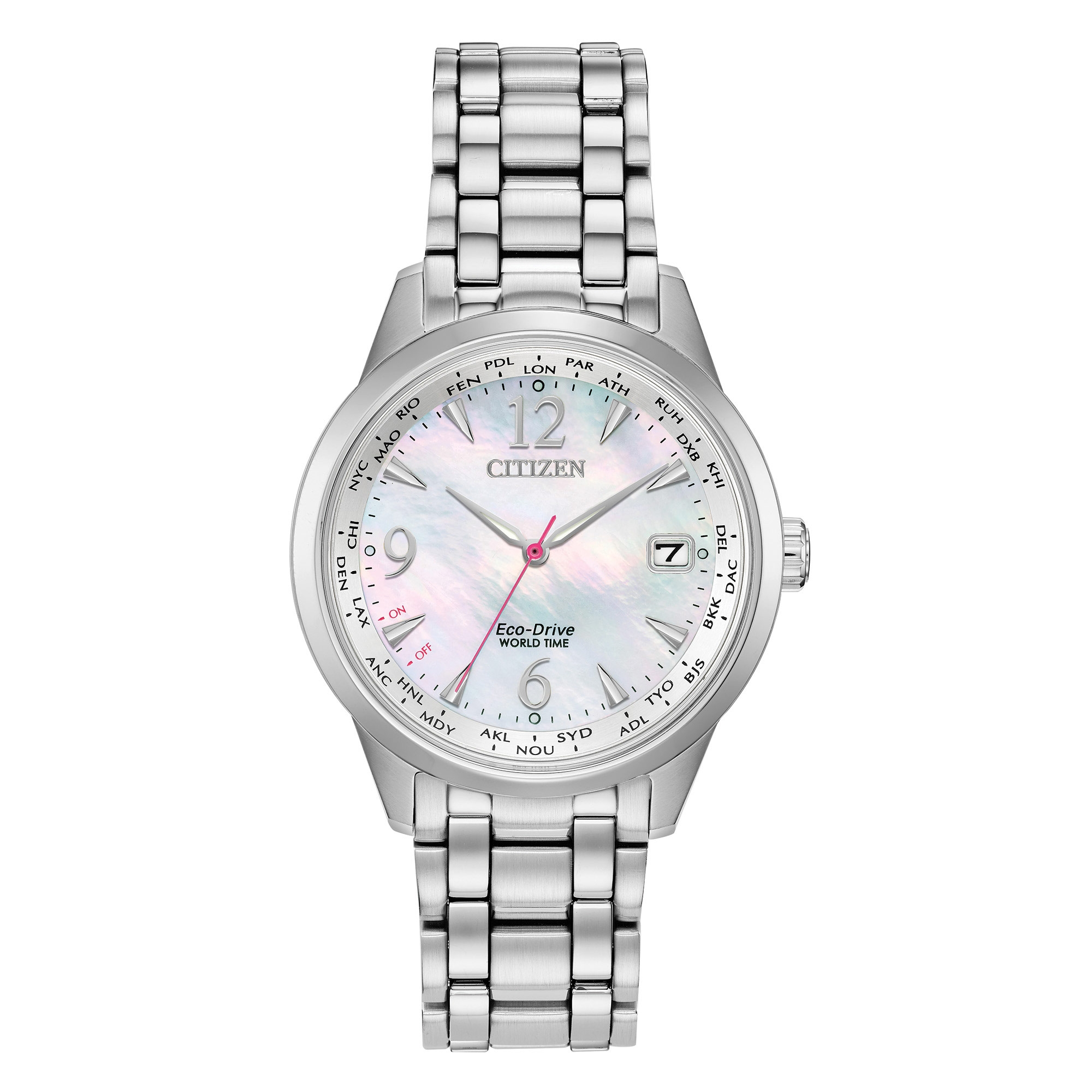 FC8000-55D Citizen World Time Eco-Drive Ladies Watch