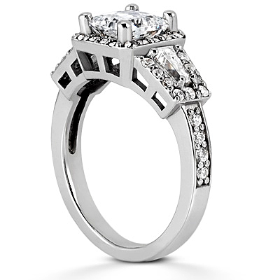 Taryn Collection 18 Karat Diamond Engagement Ring TQD 6068 Alternative View 2