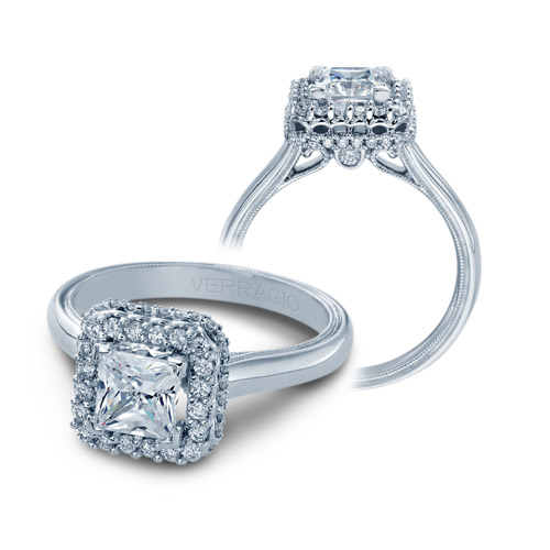 Verragio Classic 927P5 5 14 Karat Diamond Engagement Ring
