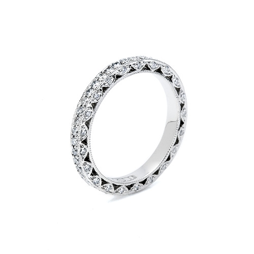 Tacori 18 Karat Crescent Silhouette Wedding Band HT2259B Alternative View 1