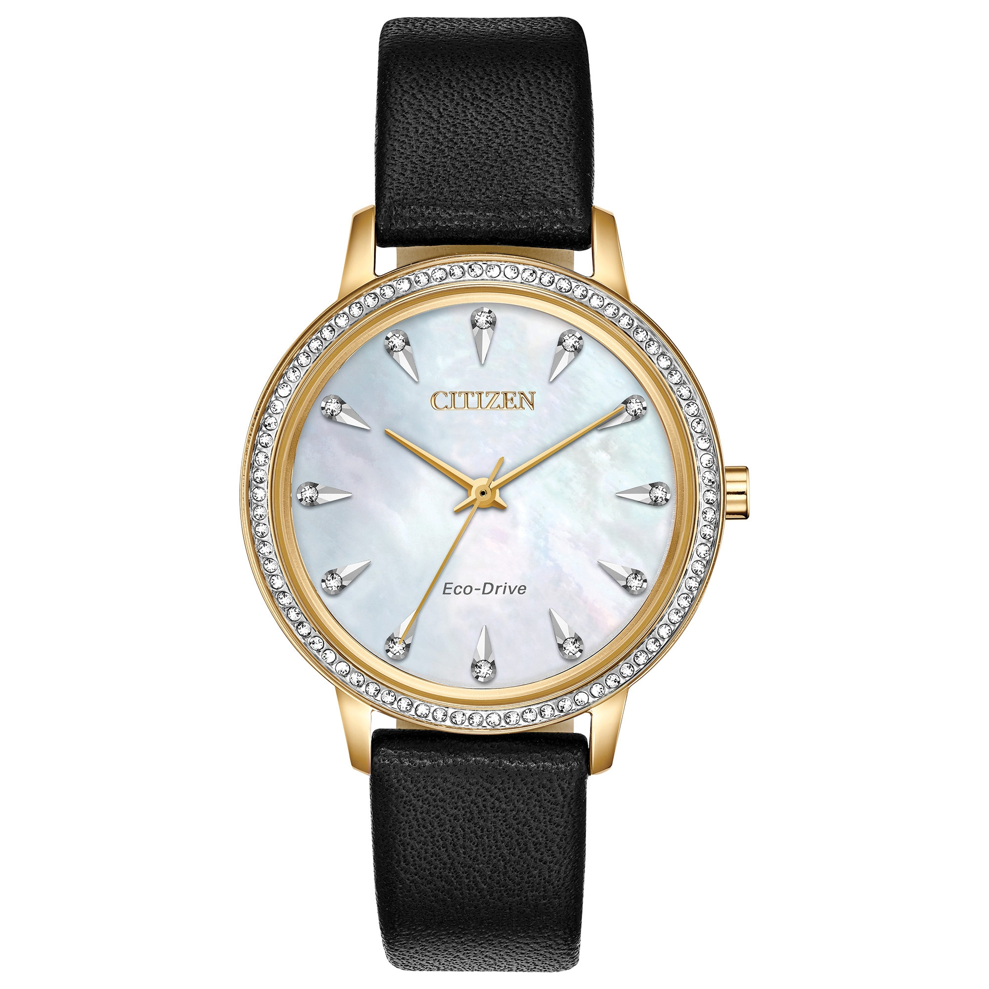FE7042-07D Citizen Silhouette Crystal Eco-Drive Ladies Watch