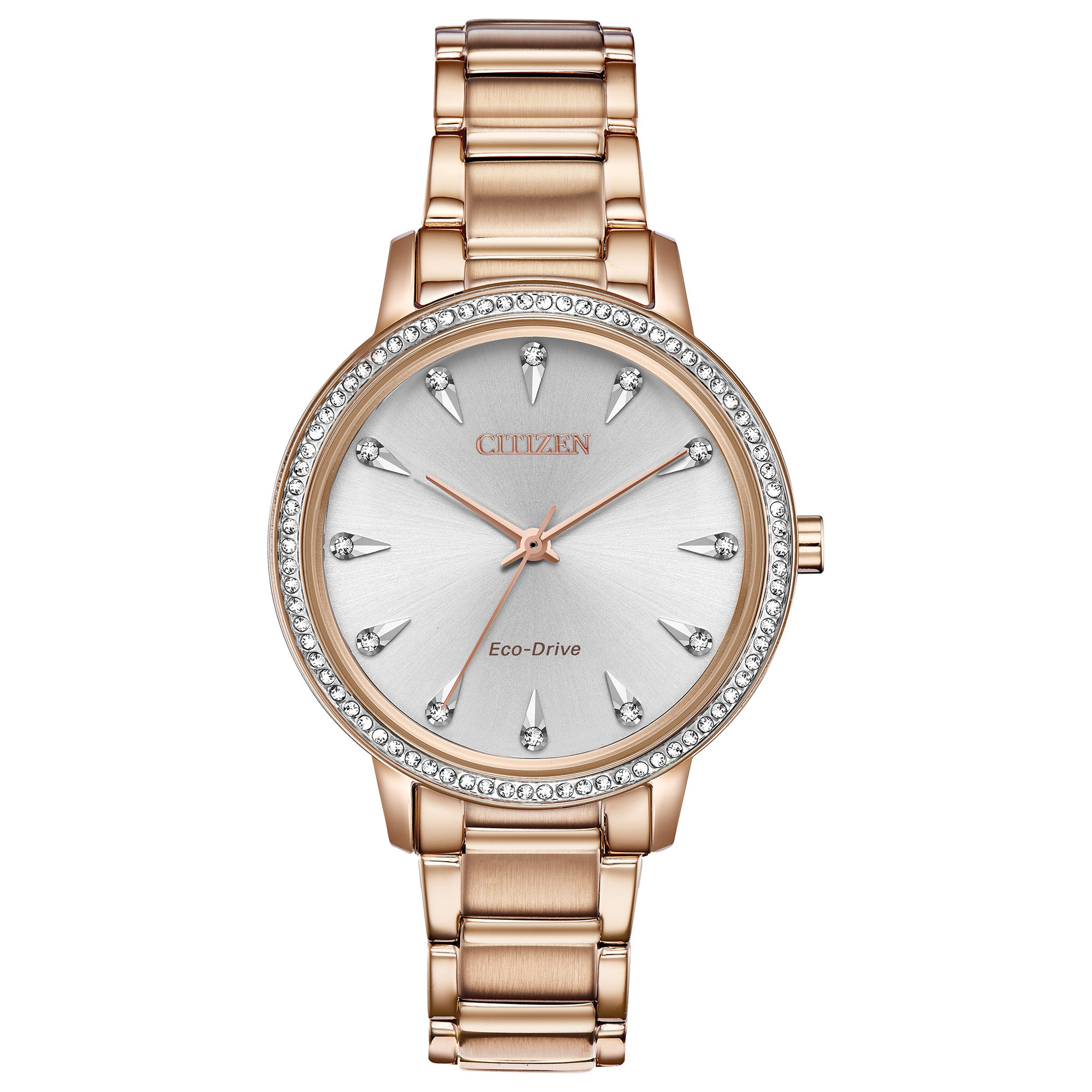 FE7043-55A Citizen Silhouette Crystal Eco-Drive Ladies Watch