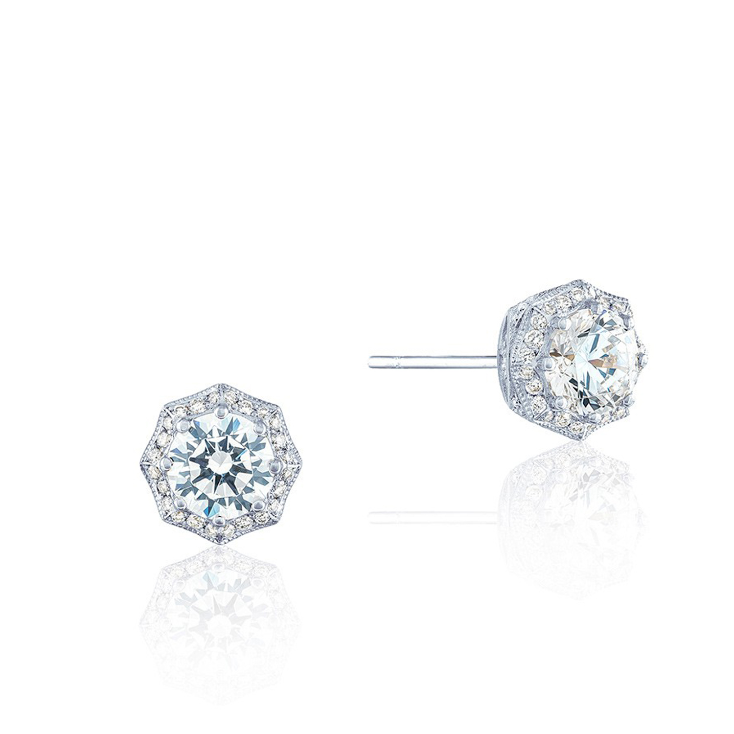 Fe804rd Tacori Pee Crescent Stud Earrings
