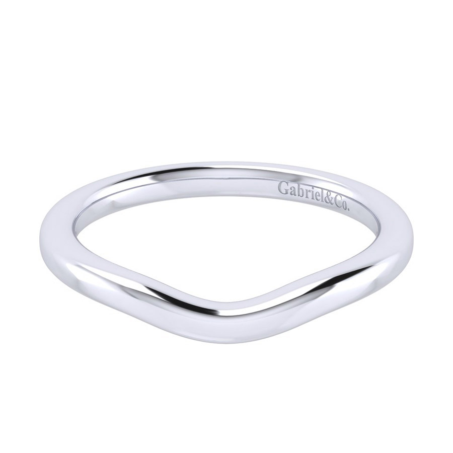 Gabriel 14 Karat Perfect Match Wedding Band WB009BW4JJJ