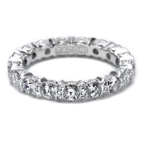 Tacori HT2519 18 Karat Wedding Band Alternative View 2