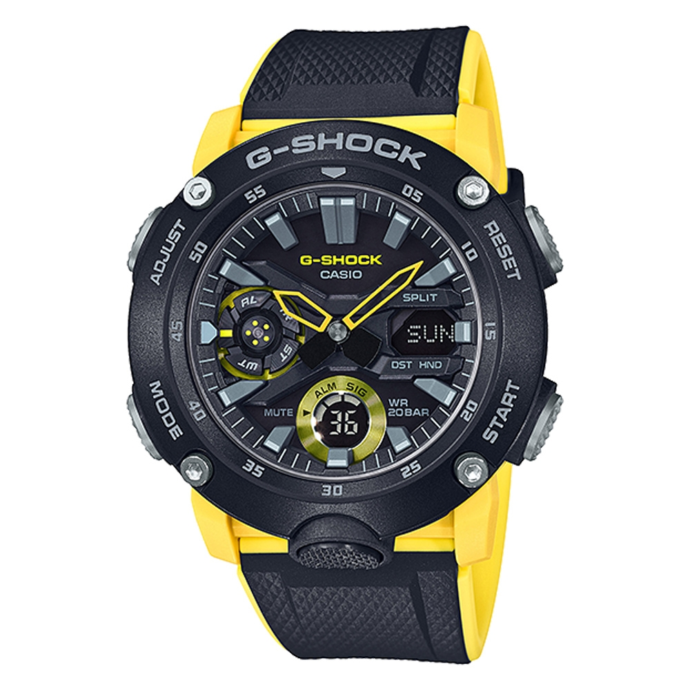 Casio GA2000-1A9 G-Shock Carbon Core Guard Watch