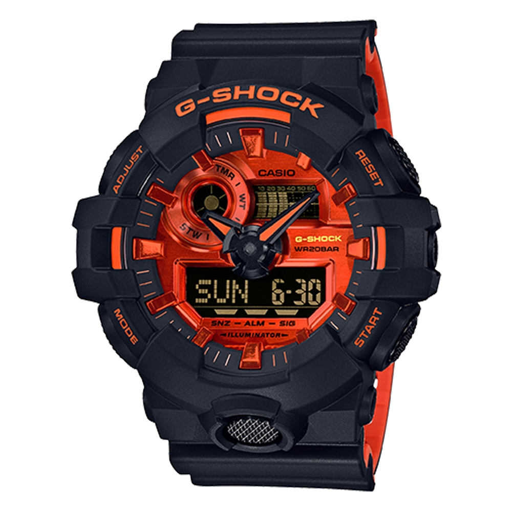 GA700BR-1A Casio Analog-Digital G-Shock Watch