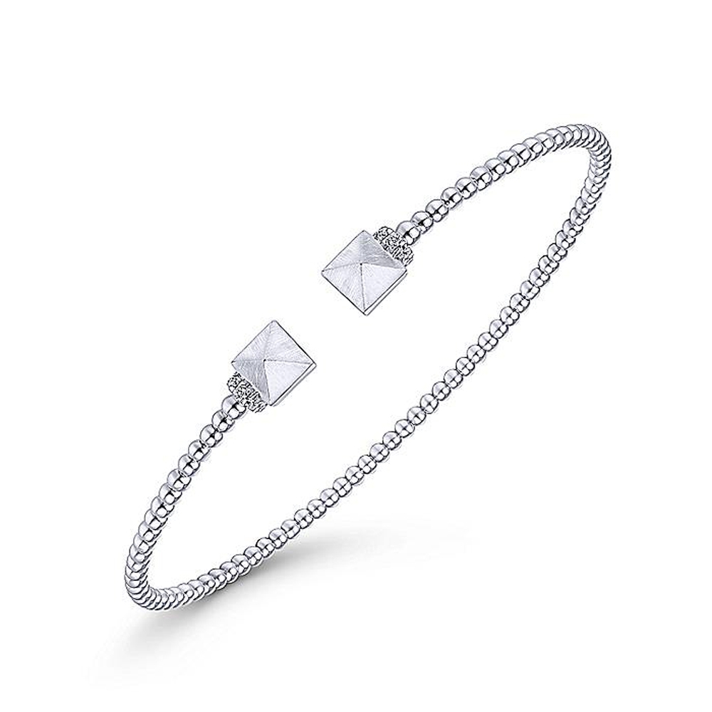 Gabriel Fashion 14 Karat Diamond Bujukan Bangle Bracelet BG4255-6W45JJ Alternative View 1