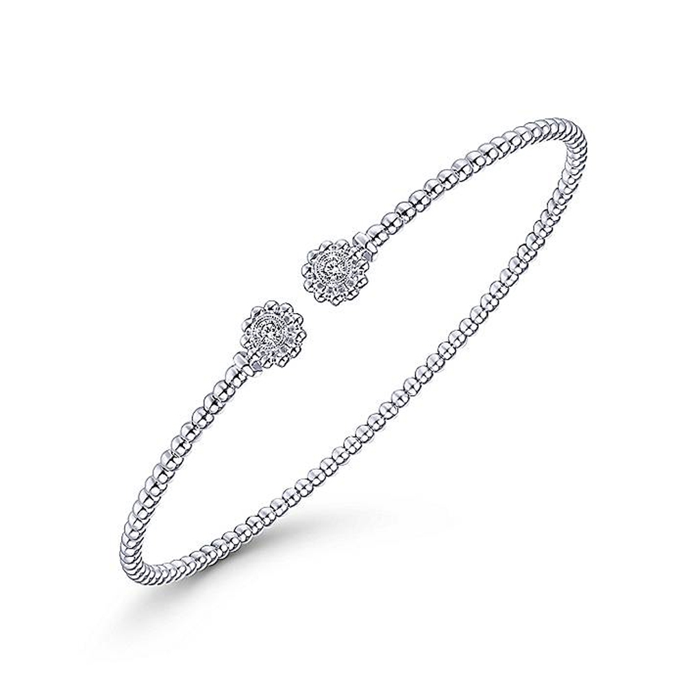 Gabriel Fashion 14 Karat Diamond Bujukan Bangle Bracelet BG4261-6W45JJ Alternative View 1