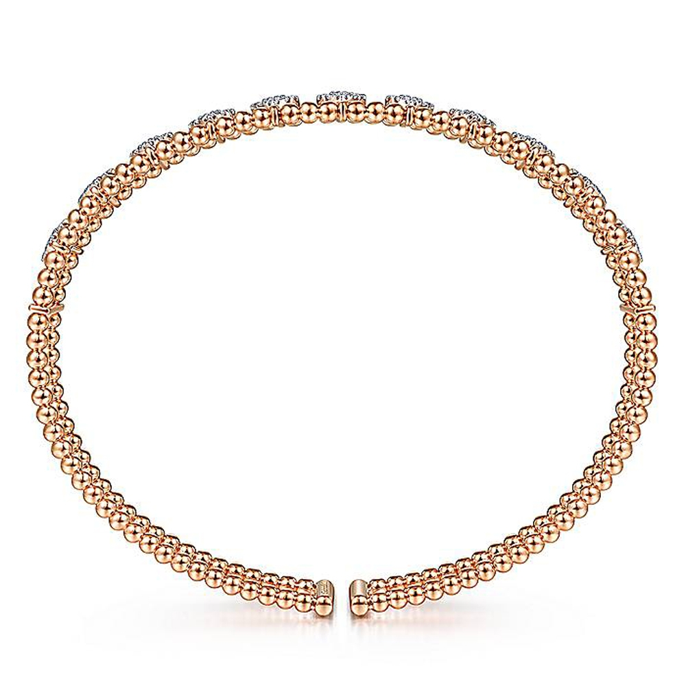 Gabriel Fashion 14 Karat Diamond Bujukan Bangle Bracelet BG4232-6K45JJ Alternative View 2