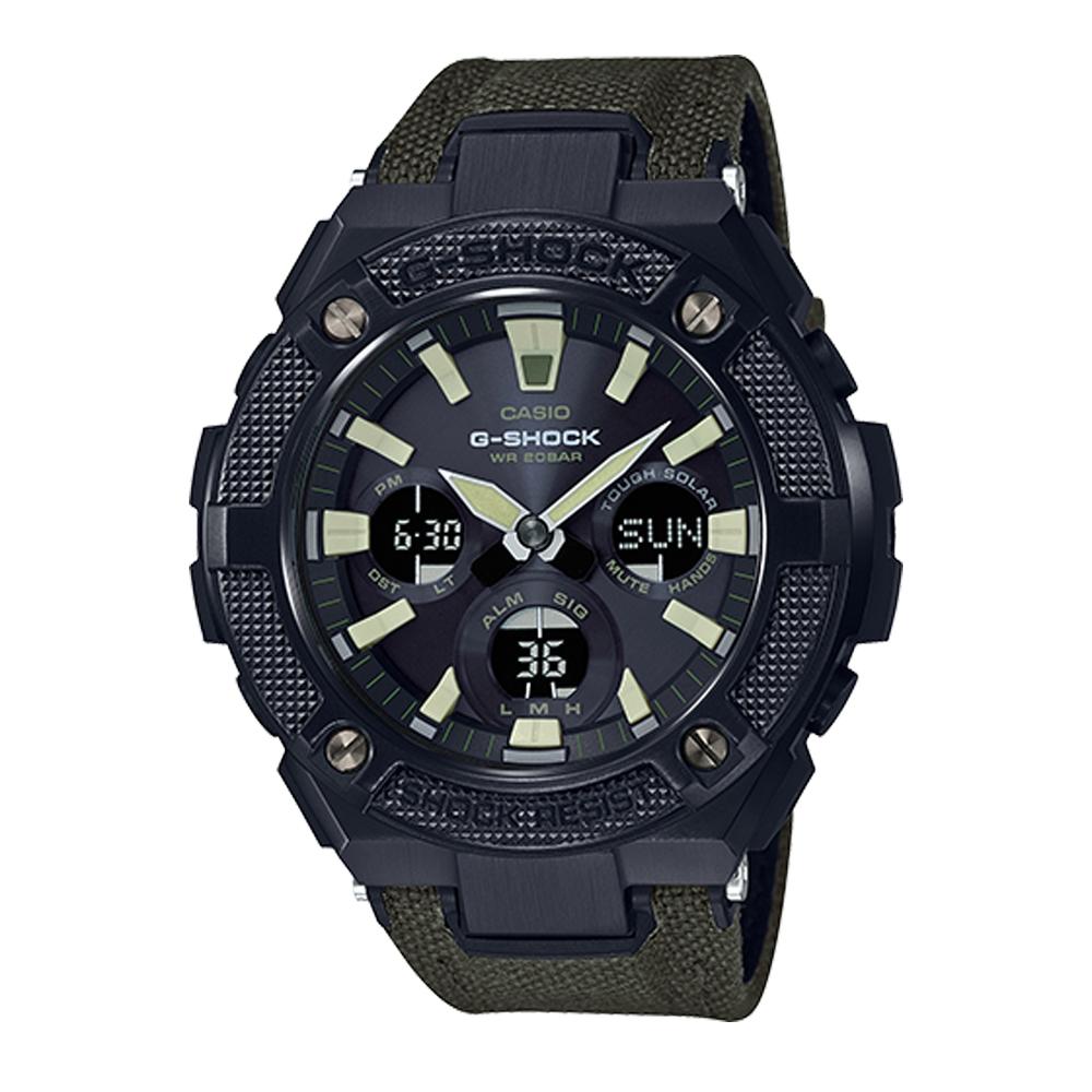 Gsts130bc 1a3 G Steel Casio Shock Watch Tq Diamonds Ga 1100