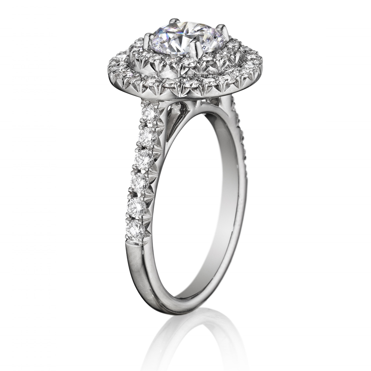 product jewelers halo rings diamond engagement mackley double ring a