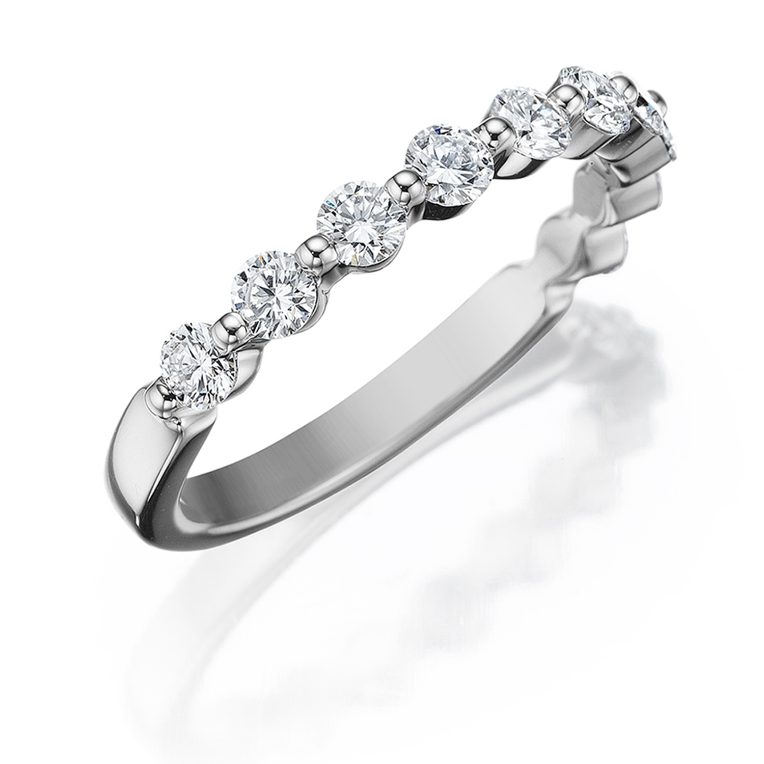 diamond natalie cushion prong product engagement diamonds ring cut by shared rings