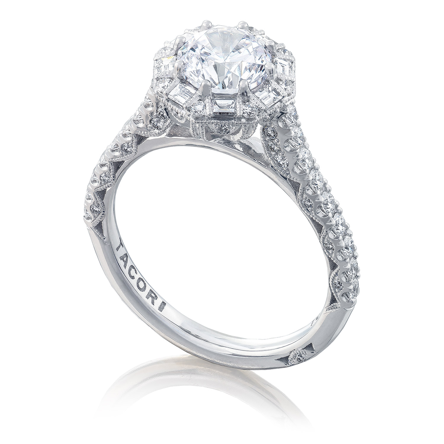 rings baunat ou karat ring in en carat platinum gw diamond design
