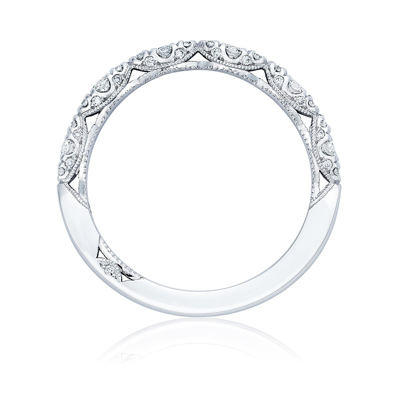 tacori ht2558b12 18 karat petite crescent diamond wedding band