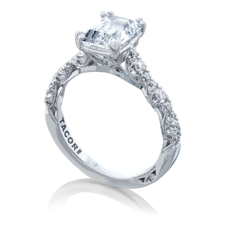 Ht2558ec85x65 Platinum Tacori Petite Crescent Engagement