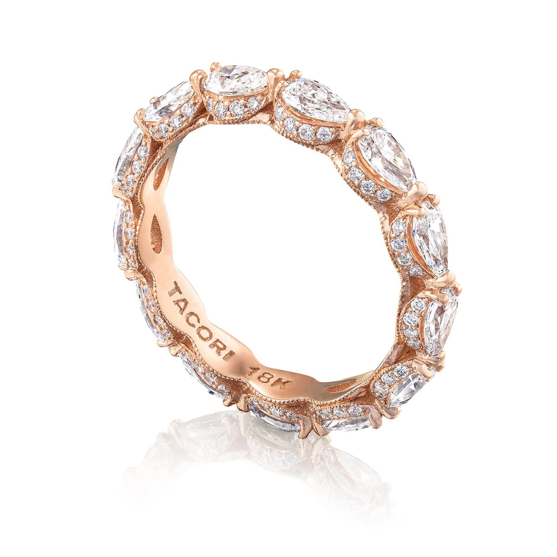 tacori ht2642pk65 18 karat royalt wedding ring tq diamonds