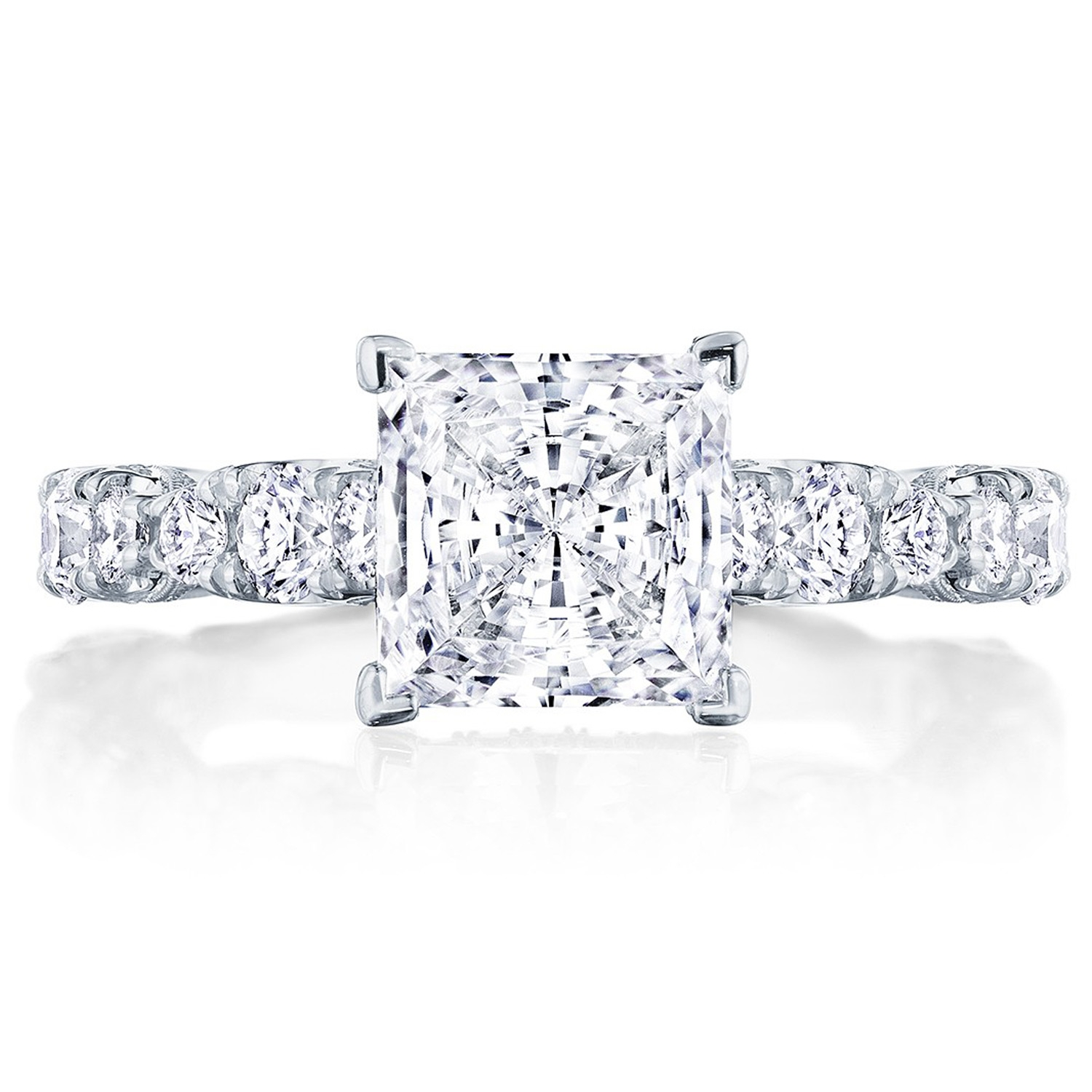 HT2654PR7 Platinum Tacori RoyalT Engagement Ring