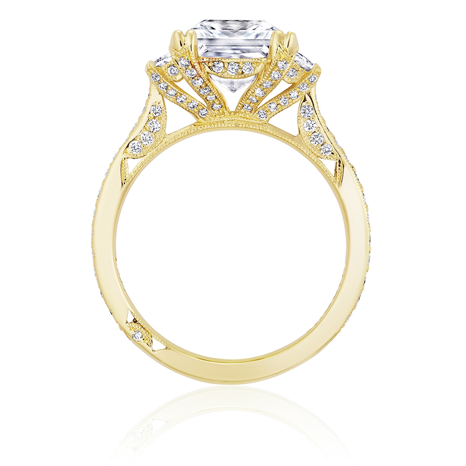 Tacori HT2655PR8Y 18 Karat RoyalT Engagement Ring Alternative View 1