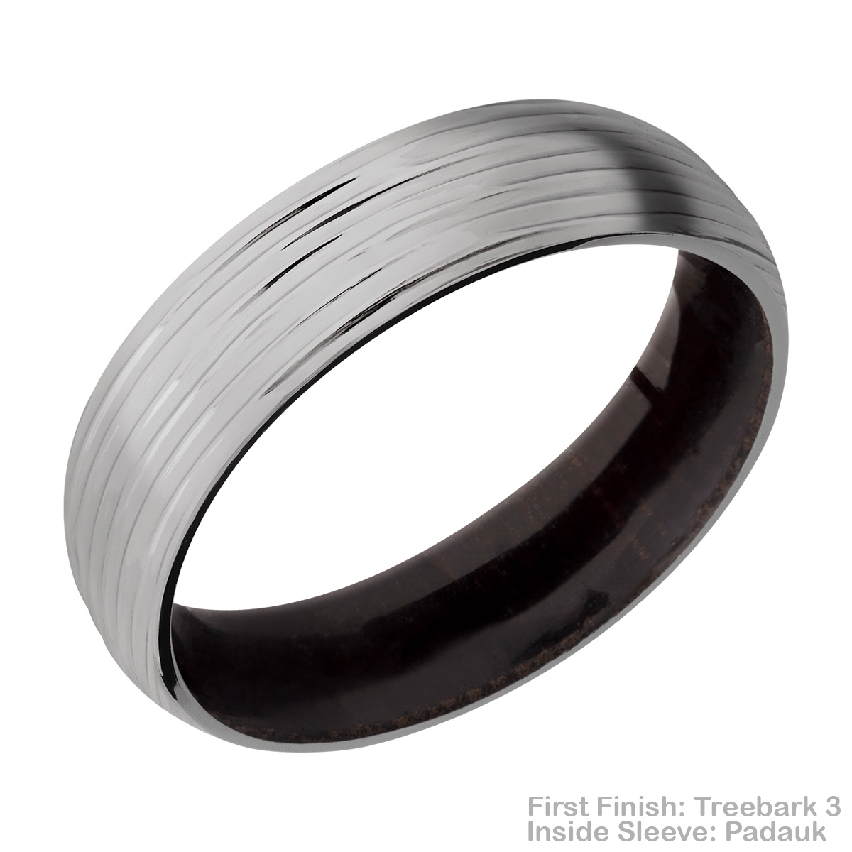 Lashbrook HWSLEEVE6D Titanium Wedding Ring or Band Alternative View 13