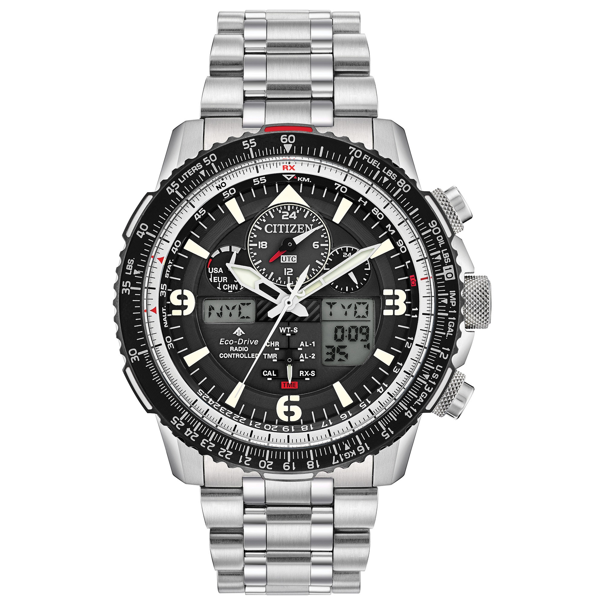 JY8070-54E Citizen Promaster Skyhawk A-T Eco-Drive Mens Watch