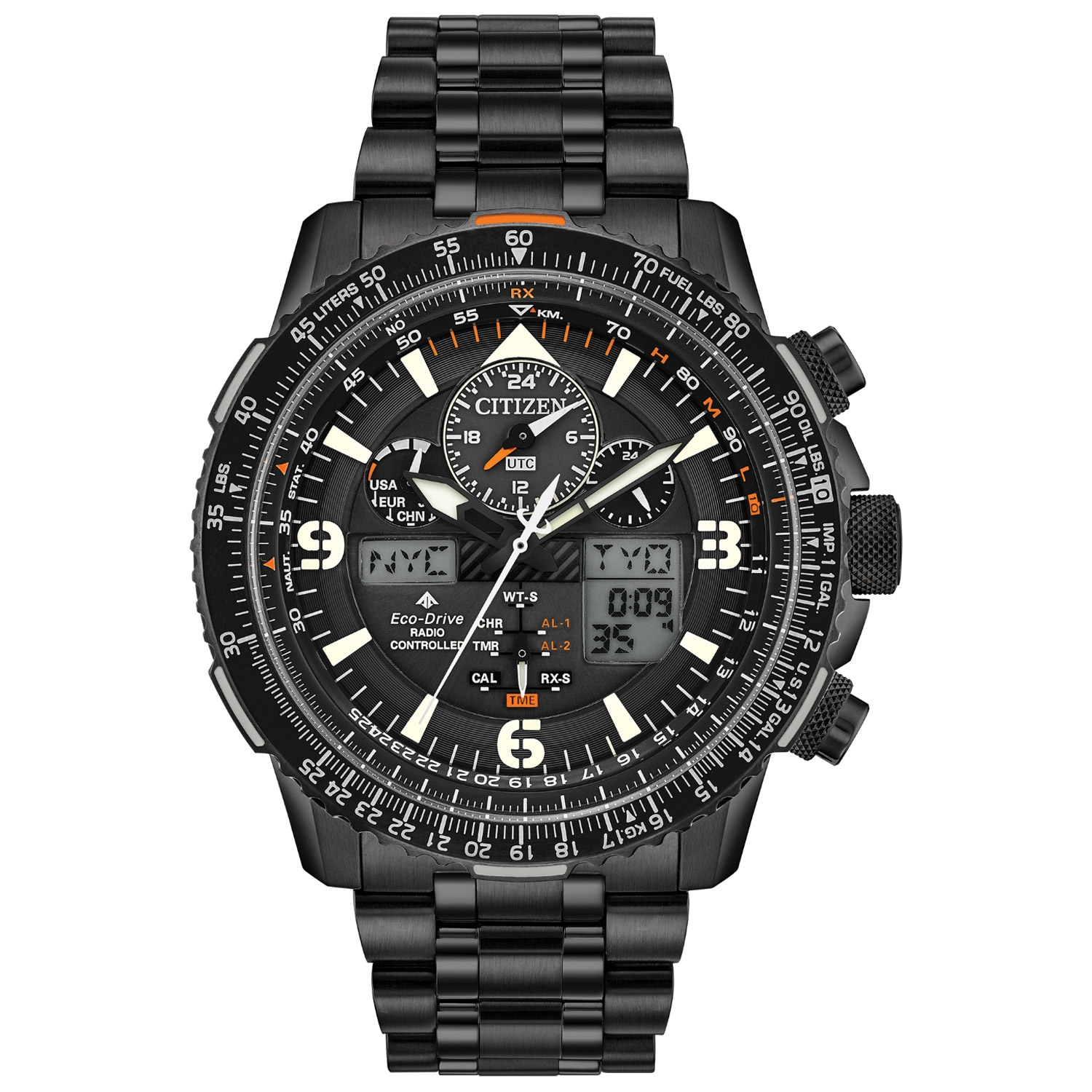 JY8075-51E Citizen Promaster Skyhawk A-T Eco-Drive Mens Watch