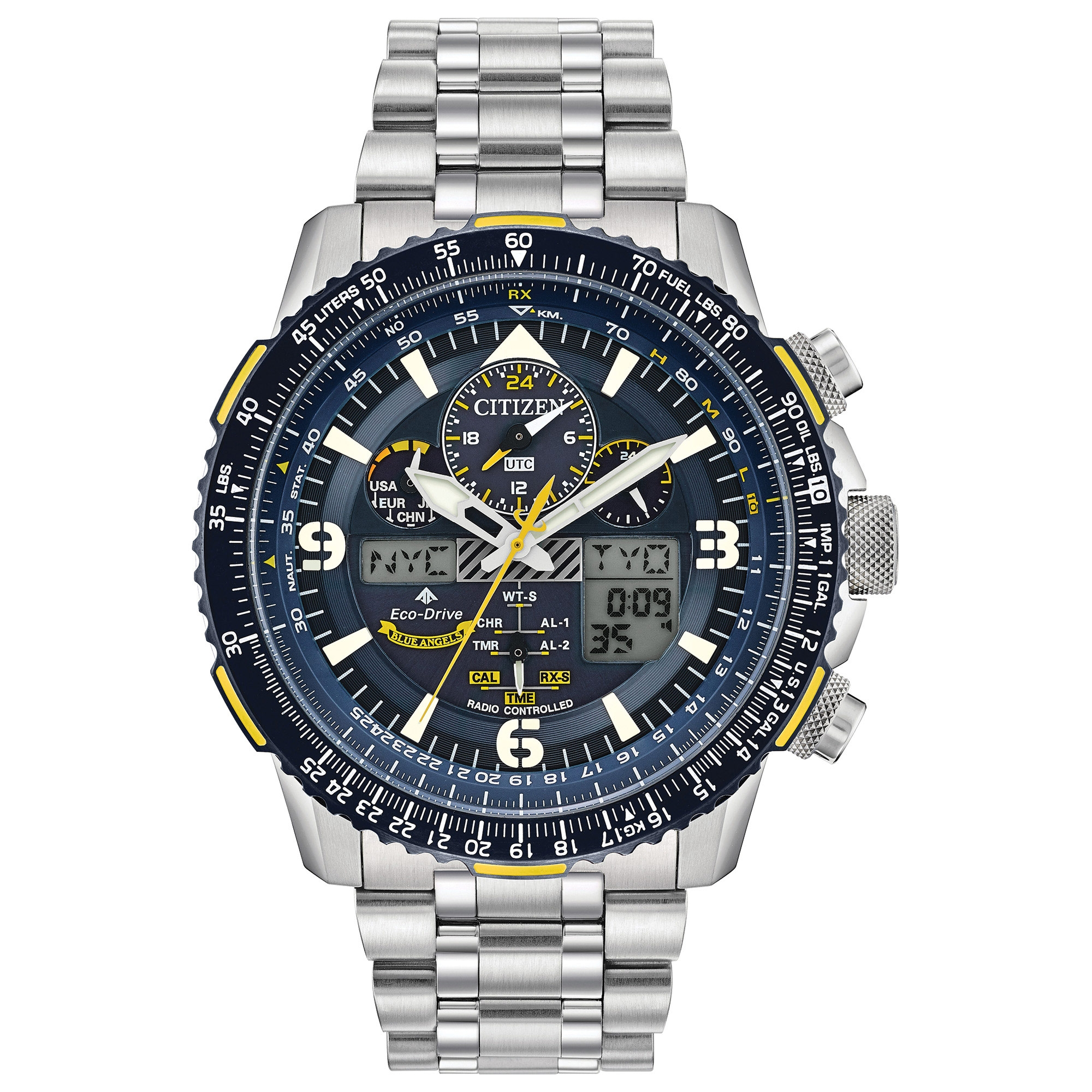 JY8078-52L Citizen Promaster Skyhawk A-T Eco-Drive Mens Watch