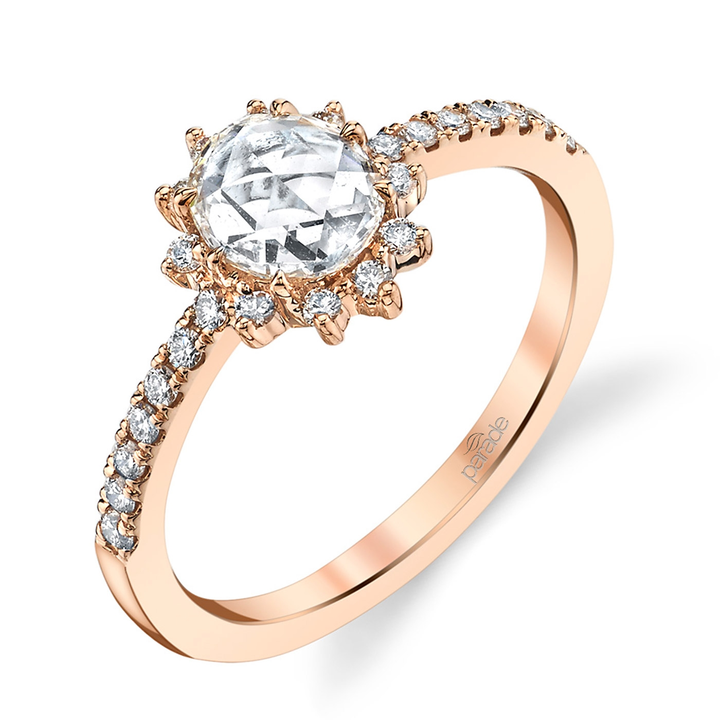 Parade Lumiere Bridal 18 Karat Diamond Engagement Ring LMBR3989 O