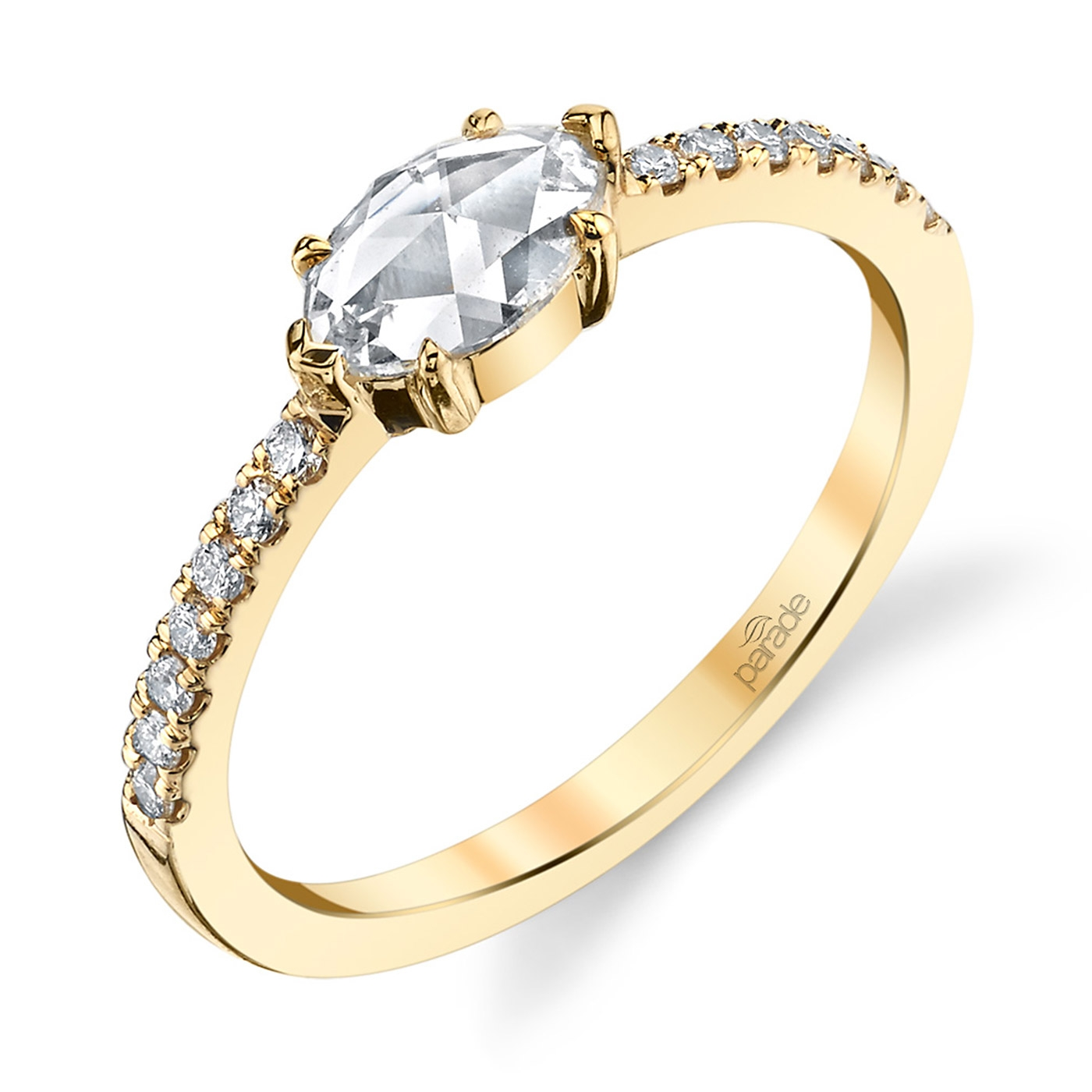 Parade Lumiere Bridal 18 Karat Diamond Engagement Ring LMBR3997