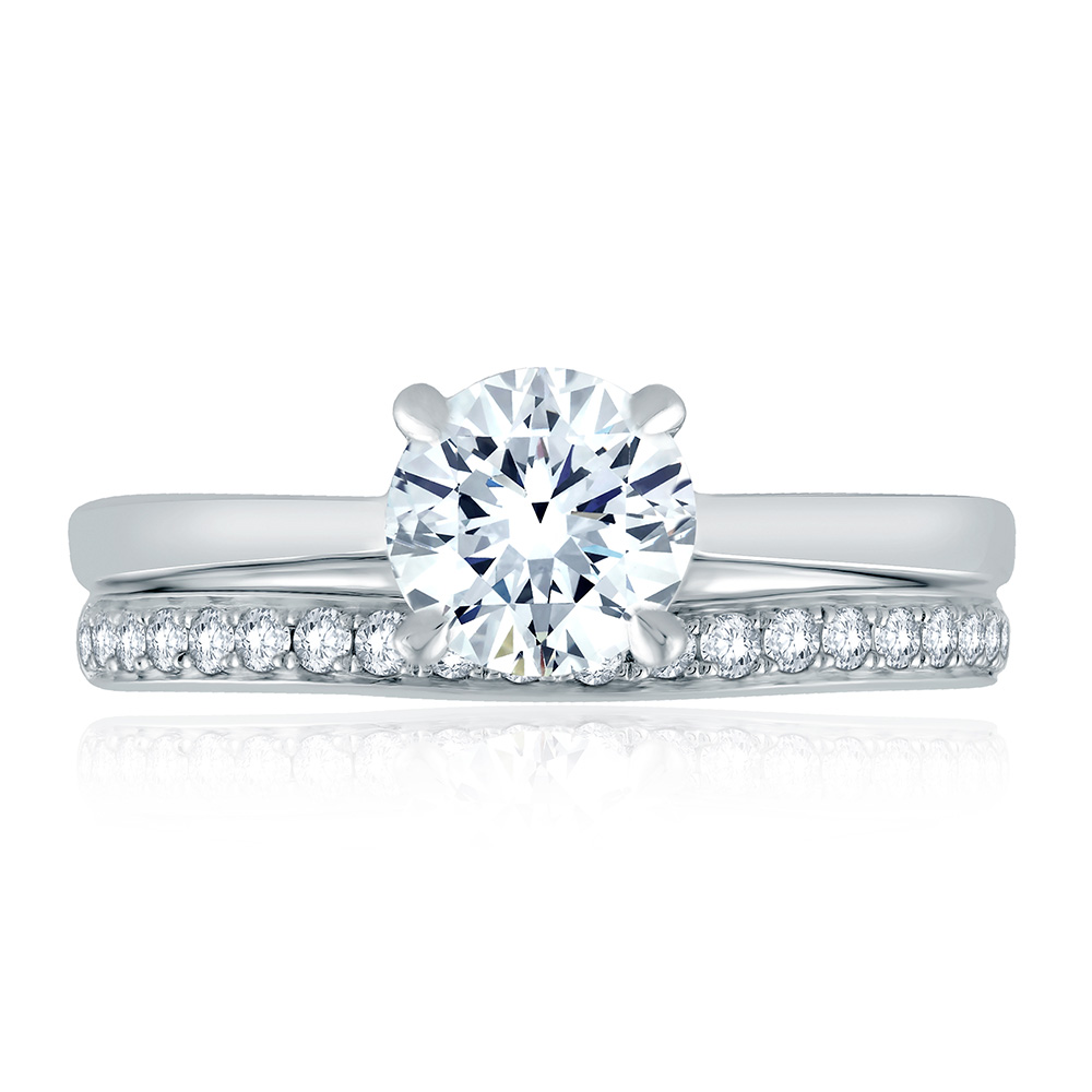 engagement ring diamondsbyraymondlee fabled g setting classic simon product p rings collection diamond