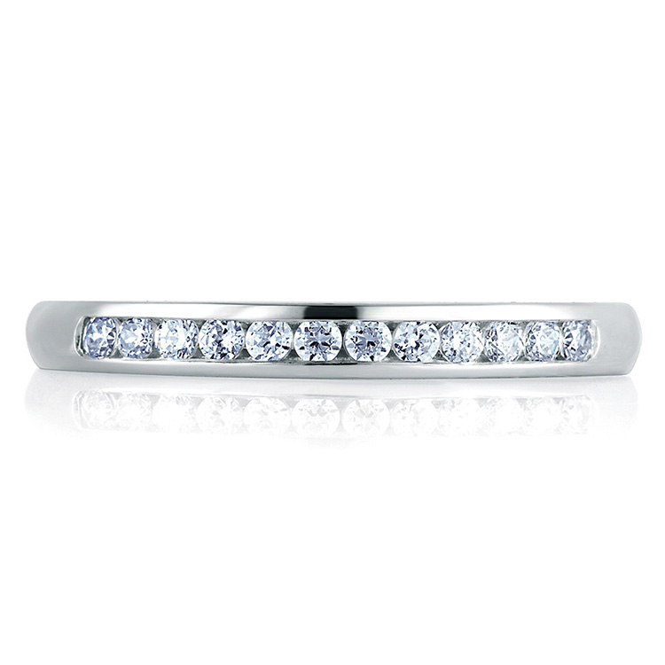 A Jaffe Classic 18 Karat Wedding Ring MR1449 Alternative View 2