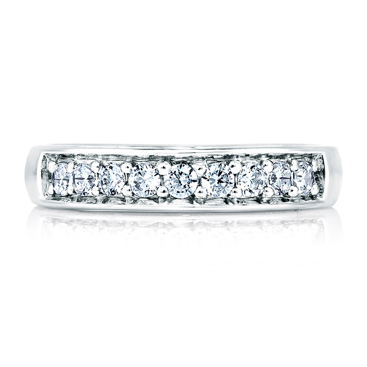 A Jaffe Signature 18 Karat Wedding Ring MRS025 Alternative View 2
