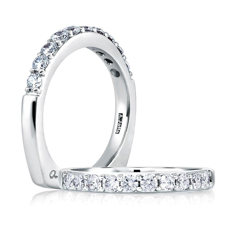 a jaffe platinum wedding ring mrs078 100 tq