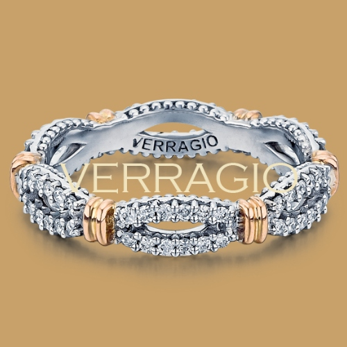 Verragio Parisian-W104 Platinum Diamond Eternity Ring / Band Alternative View 1