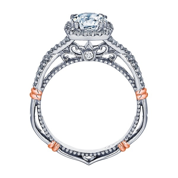 Verragio Parisian-106CU 18 Karat Engagement Ring Alternative View 3