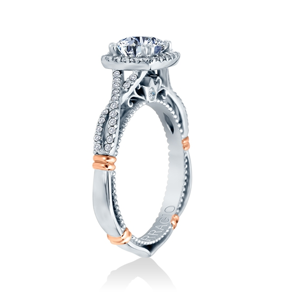 Verragio Parisian-106CU 18 Karat Engagement Ring Alternative View 2