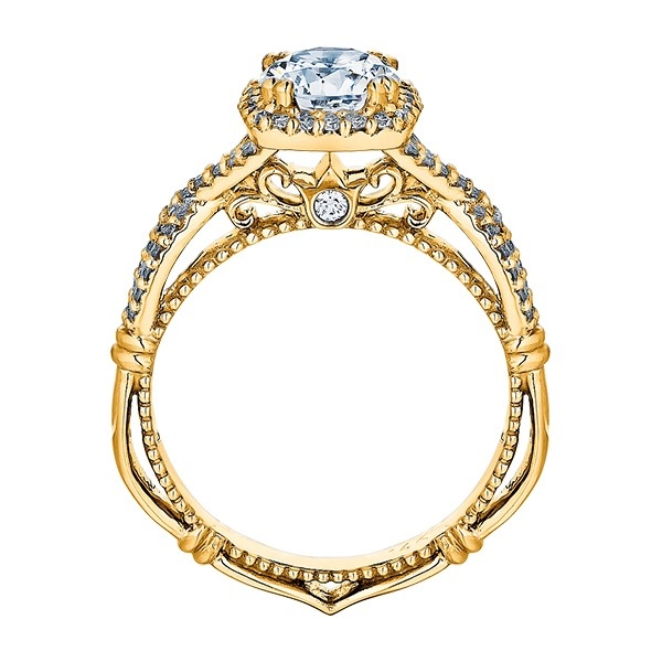 Verragio Parisian-106CU 18 Karat Engagement Ring Alternative View 5