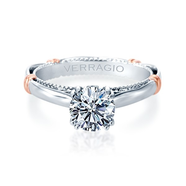 Verragio Parisian-120 Platinum Engagement Ring Alternative View 1