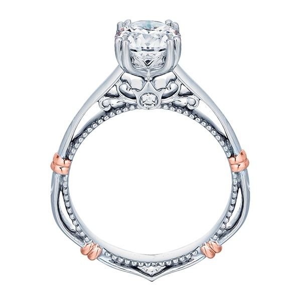 Verragio Parisian-120 Platinum Engagement Ring Alternative View 3