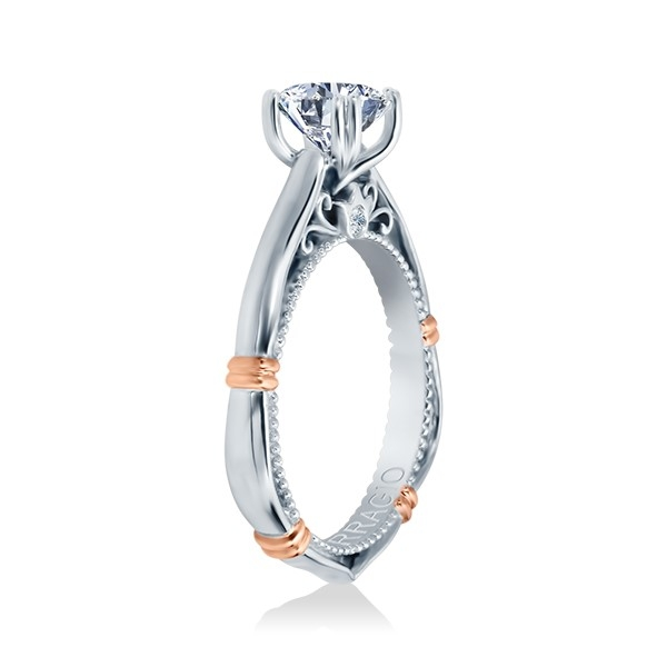 Verragio Parisian-120 Platinum Engagement Ring Alternative View 2