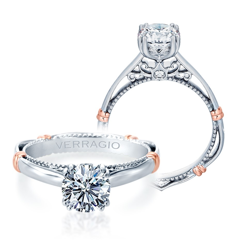 Verragio Parisian-120 Platinum Engagement Ring