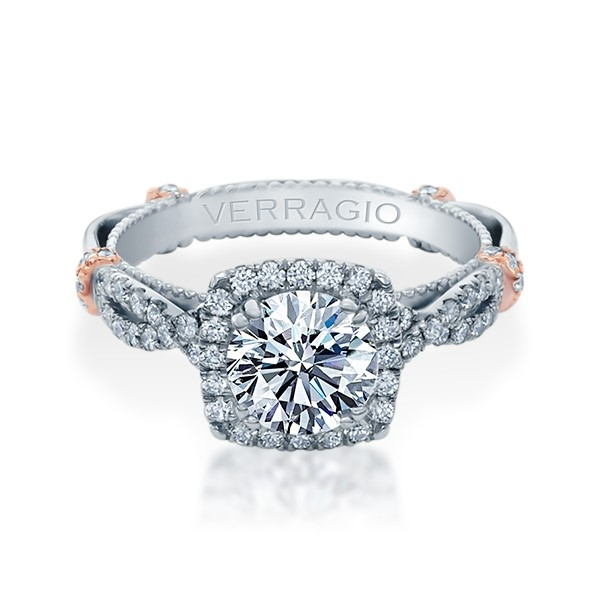 Verragio Parisian-DL106CU 14 Karat Engagement Ring Alternative View 1