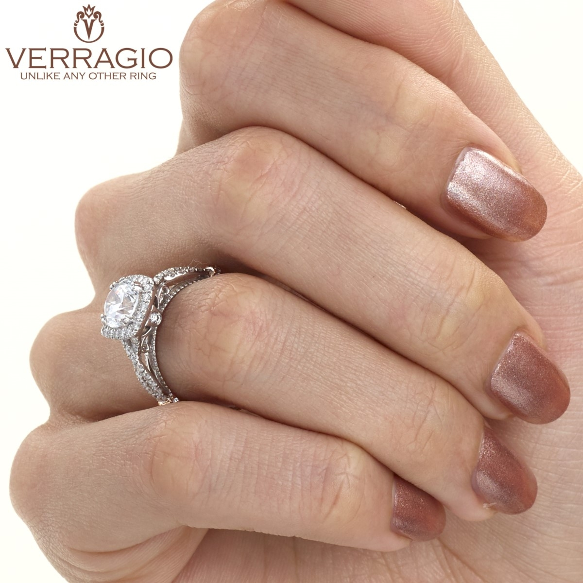Verragio Parisian-DL106CU 14 Karat Engagement Ring Alternative View 6